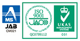 Certification mark ISO9001:QC07J0112